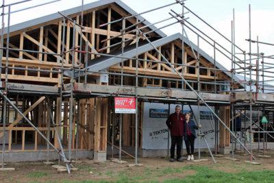 first home build at St Thomas Estate Tauranga